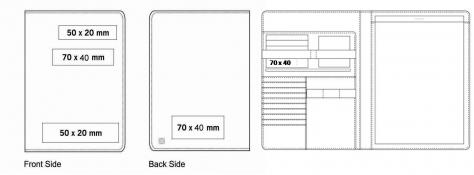 A4 Zipper Folder
