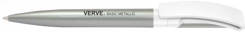Metallic Silver White